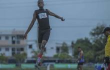 Raúl Mena, atleta de alto rendimiento en el Atlántico.