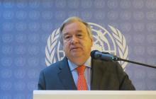 António Guterres, secretario general de la Organización de Naciones Unidas (ONU).