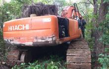 Destruyen maquinaria utilizada para la minería ilegal en Córdoba