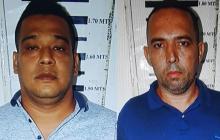 Jefrey Alirio Gómez Haad, alias la Cigarra; y Danián Fernando Ramírez, alias Oso Damián.