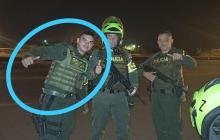 Capturan a policía activo que andaba en vehículo hurtado