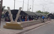 450 venezolanos hacen turno para retornar a su país desde La Guajira