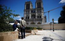 Desmontaje del andamio de Notre Dame comienza este lunes