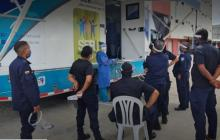 Jornada de atención en salud en le Cárcel de Ternera de Cartagena.