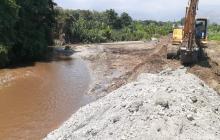 Denuncian daño ambiental en el  río Córdoba en Ciénaga, Magdalena