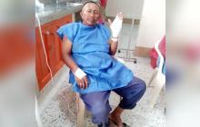 Sixto Silva, 54 años, venezolano y jefe de la familia que fue atacada a tiros.