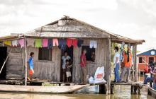 Ayuda alimentaria para 640 familias de Cienaga Grande de Santa Marta