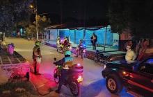 Policía del Atlántico acabó con 10 fiestas clandestinas