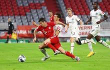 Lewandowski conduce al Bayern a la final de la Copa de Alemania