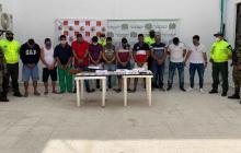 En video | Judicializan a 11 presuntos integrantes de Los Rastrojos