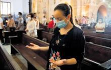 Los asistentes a las misas deberán usar el tapabocas durante las pruebas piloto.