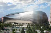 Así debe quedar el estadio Santiago Bernabéu después de la remodelación.