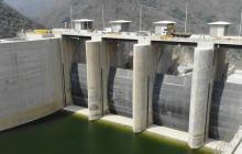 Sector de la represa de Hidroituango en Antioquia.