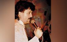 Cantando, así se despidió Rafael Orozco de su pueblo Becerril