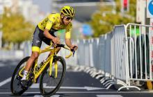 Egan Bernal, ciclista colombiano del Team Ineos.