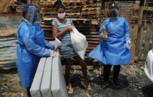 Incendio en dos viviendas de Pasacaballos: 12 afectados