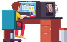 Computadora, una herramienta necesaria durante la cuarentena