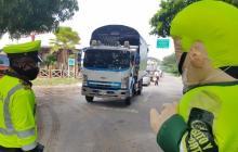 La Policía de Valledupar adelanta el control pero también pedagogía en 20 puestos en toda la ciudad.