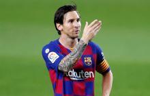 Lionel Messi convirtió, de tiro penal, el segundo tanto ante el Leganes.