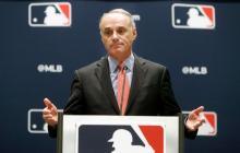 Rob Manfred, comisionado del béisbol de Grandes Ligas.