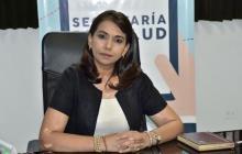 Patricia Chica, secretaria de salud de Sucre.