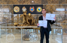Luis Daniel Rodríguez, estudiante del programa de medicina de la Universidad Libre obtiene Reconocimiento como el Mejor Interno 2020-1 por el Hospital Militar Central.