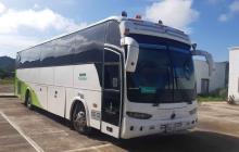 Bus interceptado en Córdoba.