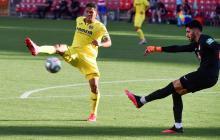 El colombiano Carlos Bacca fue titular y actuó 55 minutos. Fue sistituido por el español Paco Alcácer.