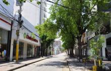 Una calle en Valledupar.