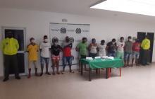 Capturan a 11 personas señaladas de traficar droga en Barranquilla y Luruaco