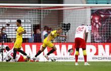 Dos goles de Earling Haaland dieron la victoria al Dortmund.