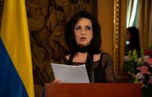 Claudia Blum, canciller de Colombia.