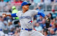 Marcus Stroman, lanzador de los Azulejos de Toronto.