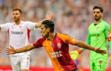 Falcao vuelve al gol con el Galatasaray pero sale con una molestia