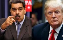 Nicolás Maduro y Donald Trump, presidentes de Venezuela y Estados Unidos, respectivamente.
