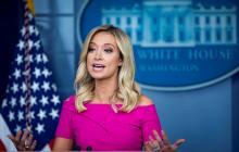 Kayleigh McEnany, secretaria de prensa de la Casa Blanca.