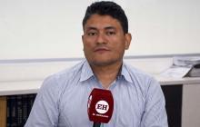 El secretario de Salud, Humberto Mendoza.