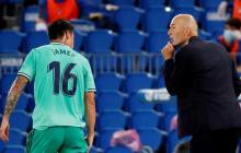 James confiesa que el Madrid rechazó una buena propuesta de un club español