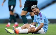 Agüero viajará a Barcelona para tratarse la rodilla izquierda