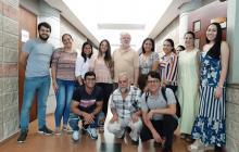 Alumnos y profesores de la Maestría de Periodismo Uninorte-EL HERALDO.
