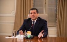El director de la Dirección de Impuestos y Aduanas Nacionales (Dian), José Andrés Romero.