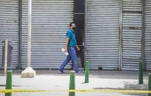 Los negocios del centro son los más afectados por el cierre del comercio no esencial en la ciudad.