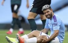 """""""Todo salió bien"""", dice Sergio Agüero tras ser operado"""