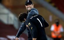 Klopp contento luego de la victoria más reciente del Liverpool.
