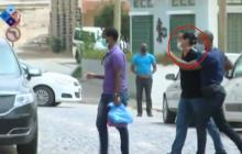 Alex Saab cuando era trasladado al Tribunal de Sal, en Cabo Verde, tras su captura.