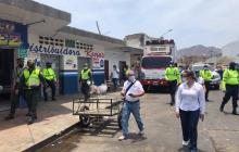 Realizan 400 operativos para recuperar el espacio público en Santa Marta