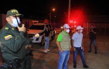 Un homicidio y 182 riñas durante el toque de queda en Valledupar