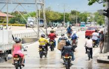 Prorrogan decreto sobre circulación de motocicletas en Barranquilla