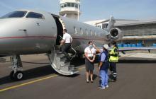 Ciudadanos chinos partieron en viaje humanitario desde Santa Marta