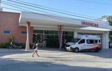 El herido fue trasladado al Hospital de Puerto Colombia.
